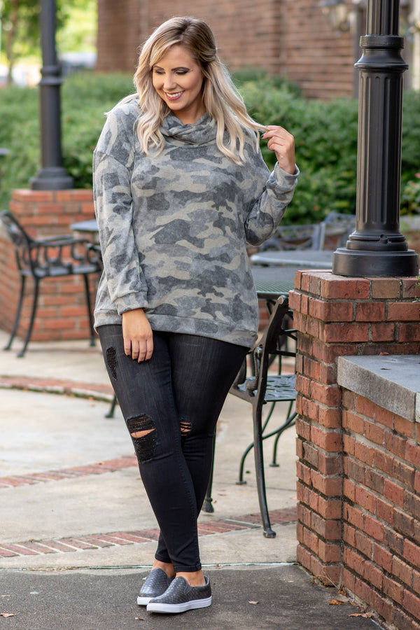 Life Well Lived Top, Olive