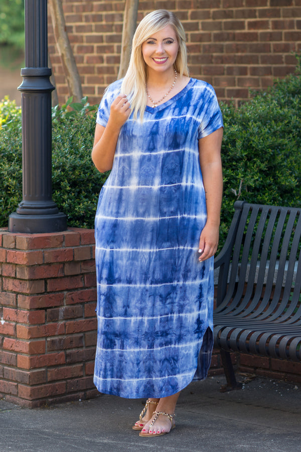 Perfect Escape Maxi Dress, Navy