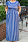 The Thought Of You Maxi Dress, Denim