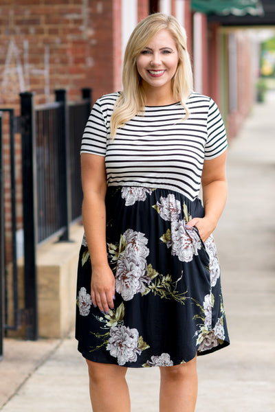 Faithfully Yours Dress, Black