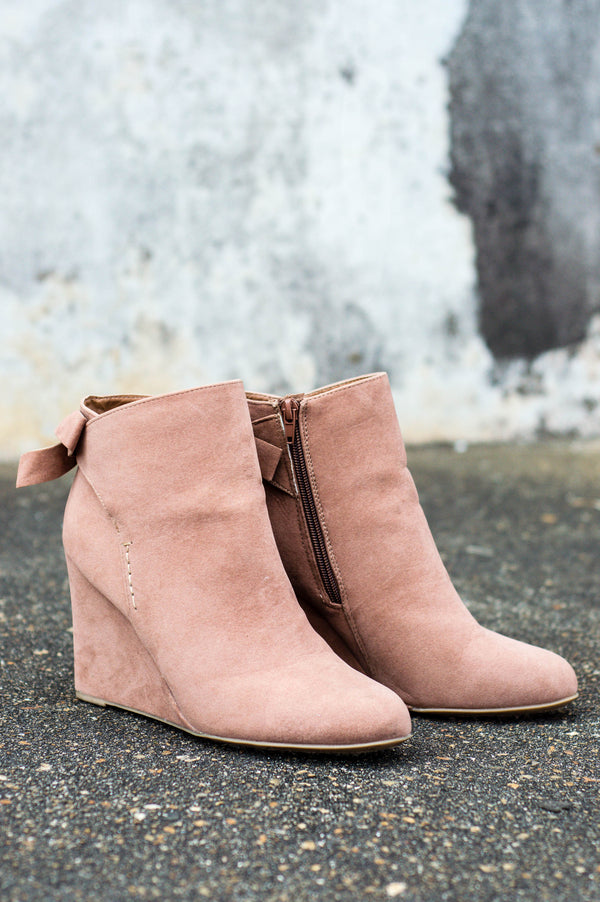 Places To Go Booties, Camel
