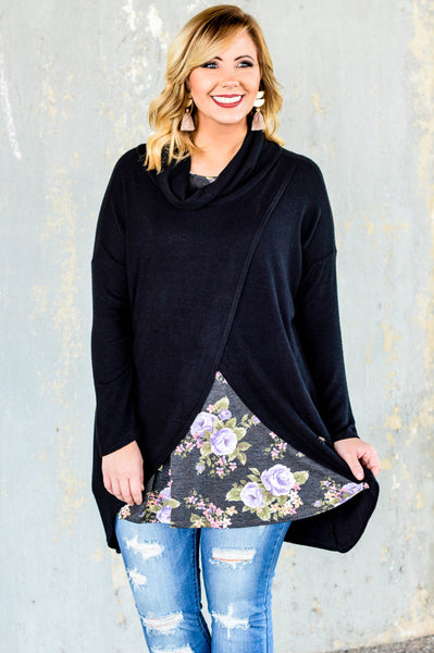 Problem Solved Tunic, Black