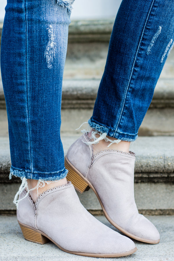 Classic Fave Booties, Taupe