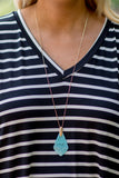 Colors Of The Wind Necklace, Turquoise