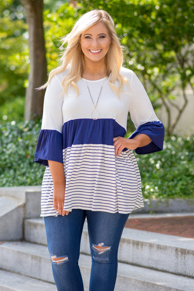 Worth A Second Chance Tunic, Ivory