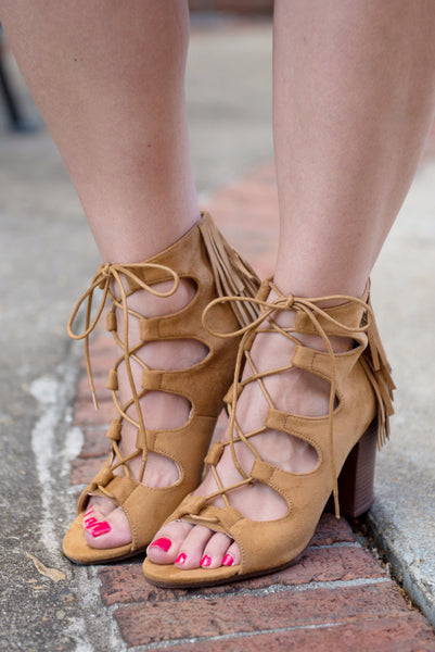 Outlaw Booties, Camel