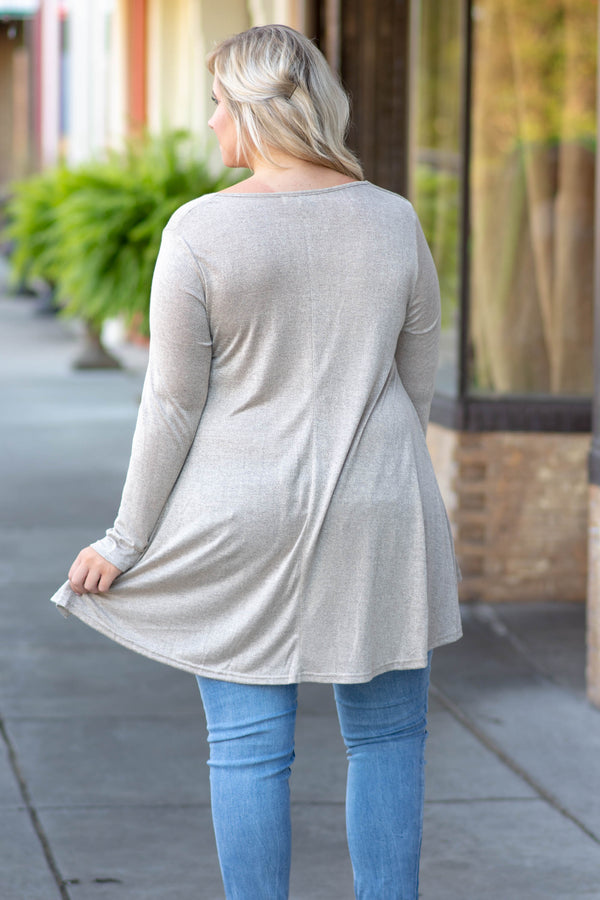 The Weekend Tunic, Mocha