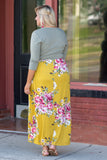 Collecting Memories Maxi Dress, Mustard