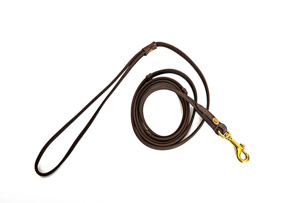 Basic Dog Leash, Small Dogs < 25 lbs, 6 foot Black - RuffGrip Dog Leashes – 2