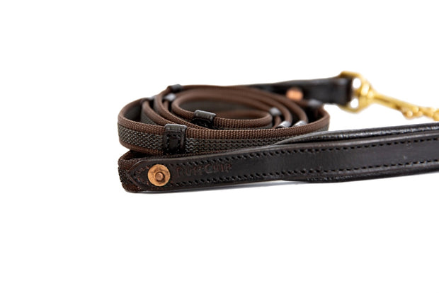Leather Handle Leash, Small to Medium Dogs,  6 foot