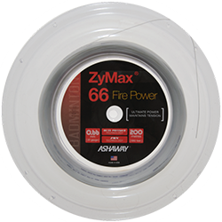 Ashaway ZyMax 66 Fire Power Badminton String In Reel - skylarsunsports.com