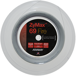 Ashaway ZyMax 69 Fire Badminton String In Reel - skylarsunsports.com