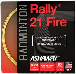 Ashaway Rally 21 Fire Badminton String - skylarsunsports.com