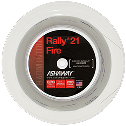 Ashaway Rally 21 Fire Badminton String In Reel - skylarsunsports.com