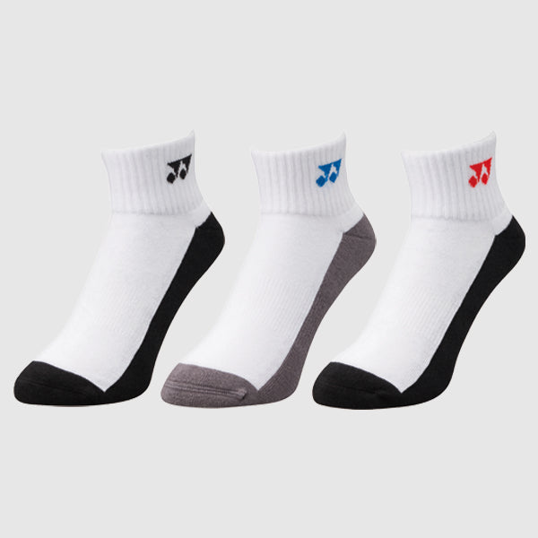 YONEX SPORT LOW-CUT SOCKS (3PAIRS) - skylarsunsports.com