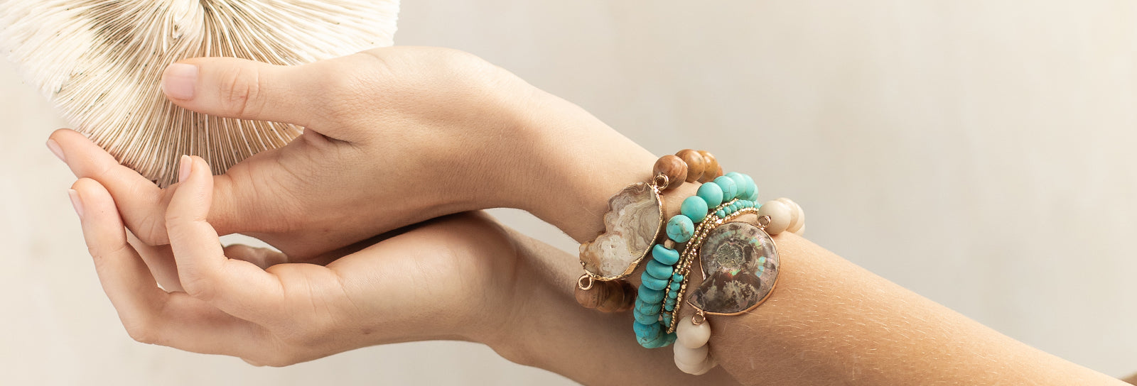 Sea Fossil Stacking Bracelet Scout