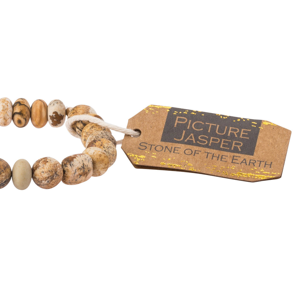 Picture Jasper Stone Bracelet - Stone of the Earth