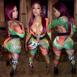 Ms. Jungle Fever Bodysuit