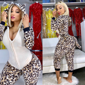 Ms Sexy Cheetah Onesie