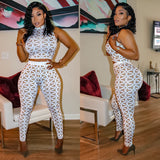 "2 Piece Crystal Set ""High Waist"""