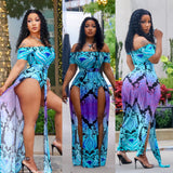 Ms Colorful High Life Romper/Bodysuit/Dress
