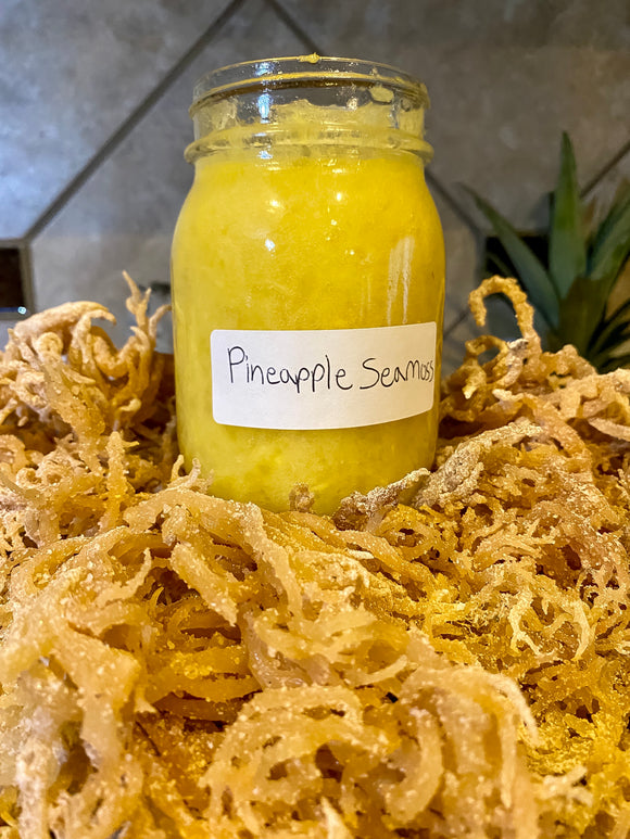 Pineapple Sea Moss Gel
