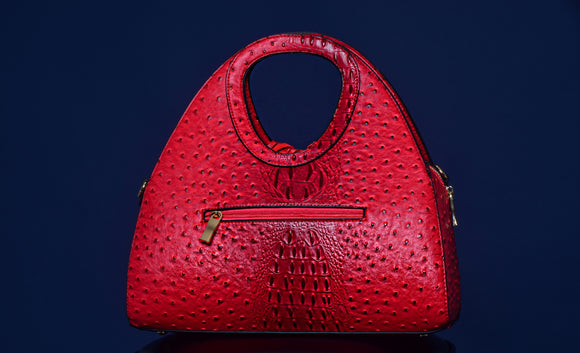 Red Gator Handbag