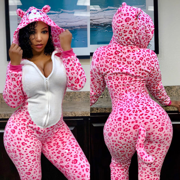 Hello Pink Kitty Onesie