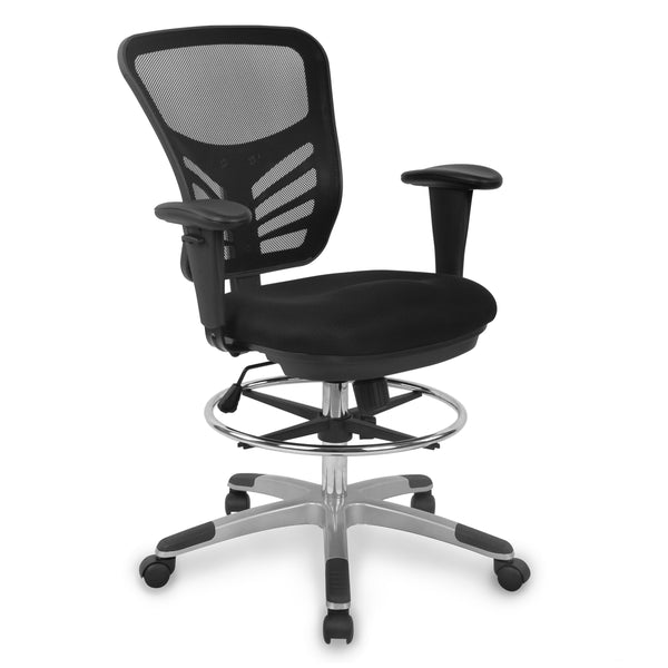 Brighton Drafting Chair in Black