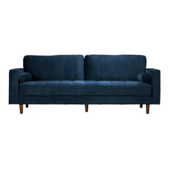 Inga Sofa with Velvet in Blue