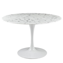 "Daisy 48"" Artificial Marble Dining Table"