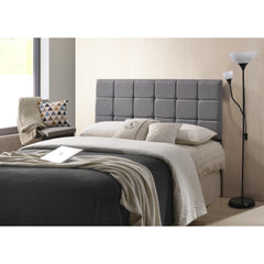 Rochelle Panel-Tufted Headboard, Queen Size