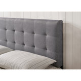 Guilia Square-Stitched Headboard, Queen Size