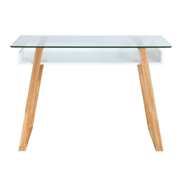 Segovia Glass Top Desk