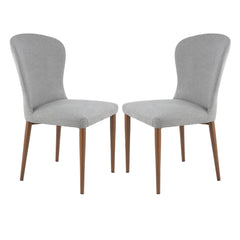 Creston Dining Chair in Grey (Set of 2)