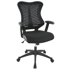 Correna Office Chair in Mesh, Black