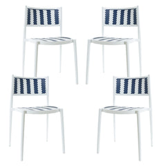 Tuxedo Indoor / Outdoor Dining Chair (Set of 4)