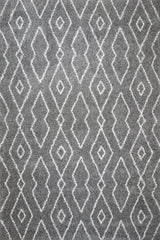 Logan Shag Area Rug (5'3'' x 7'6'') in Dark Grey