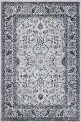 Daynes Traditional Distressed Area Rug (5'3'' x 7'10'') in Cream