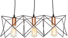 Crampton Three-Light Pendant