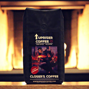 Closers Coffee - Fire-Roasted, Extra-Caffeinated - 12oz