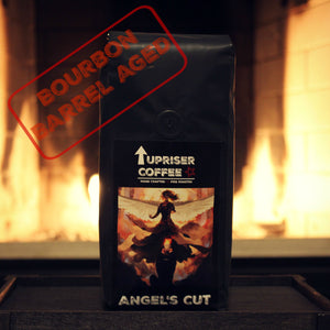 Angels Cut, Fire Roasted, Bourbon Barrel Aged Coffee - 12oz