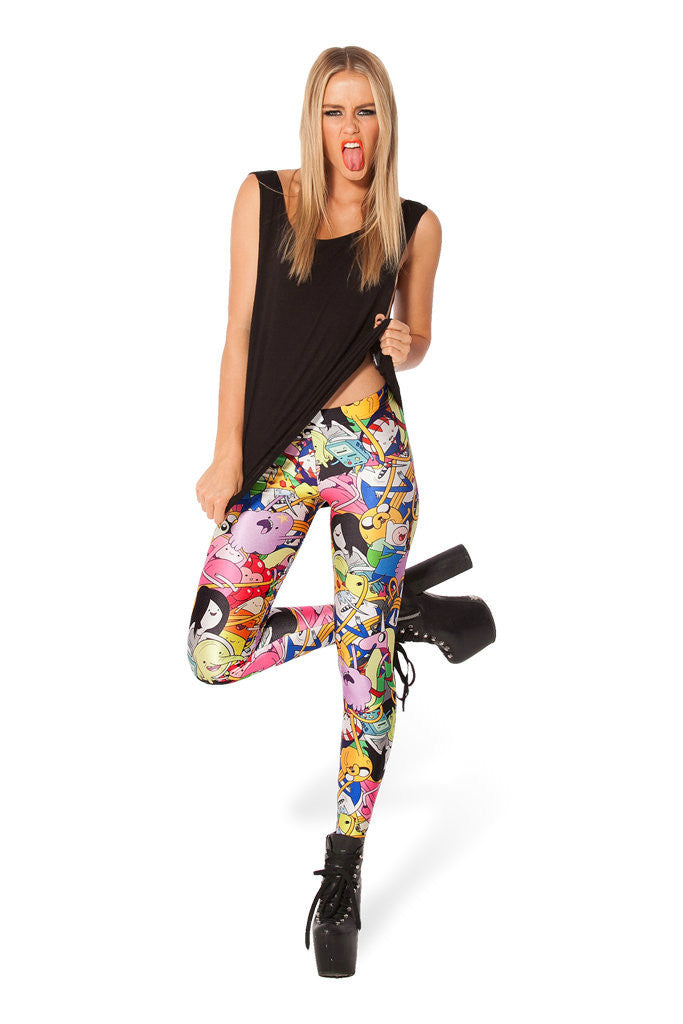 Special Sales In Europe And America Are Significantly Thinner Self Cultivation Silk Leggings Stars