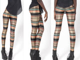 Leggings - Nairobi Sexy Black Backing Leggings - Epic Leggings