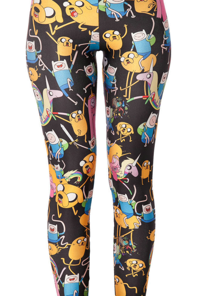 Sky And Montage Adventure Time Sexy Leggings
