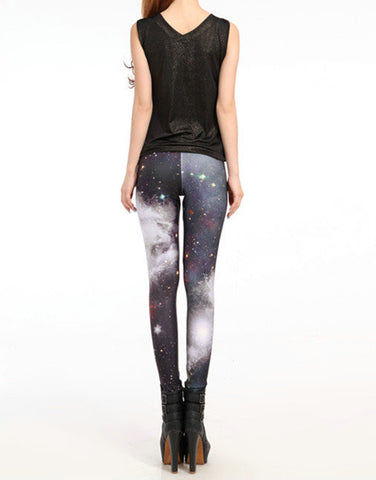 Leggings - Galaxy Universe Slinky Silk Leggings - Epic Leggings