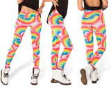 Leggings - Hot Star Digital And Rainbow Sexy Leggings - Epic Leggings