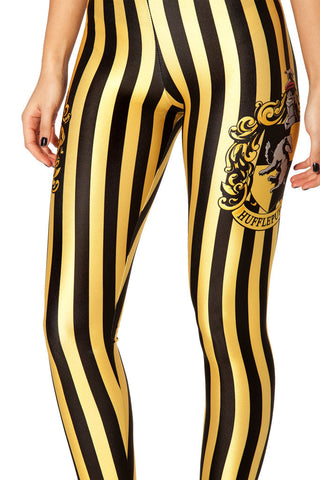 Leggings - Yellow Striped Tights Sexy Leggings - Epic Leggings
