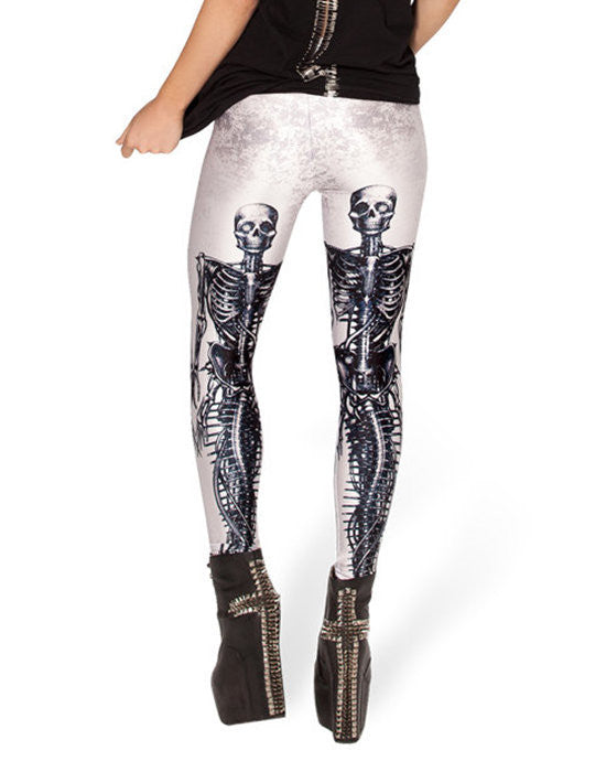 Leggings - Human Skeletons Tight Sexy Leggings - Epic Leggings