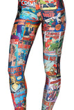 In Spring Of Sky And Digital Box Cartoon Sexy Leggings